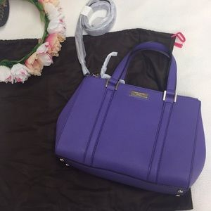 NWT Kate Spade Newbury Lane Small Loden in Aster
